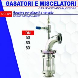 GASATORE CON ATTACCHI A...