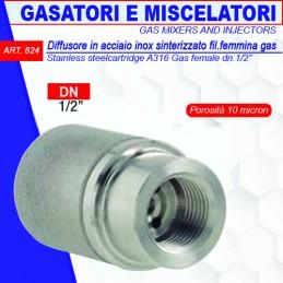 DIFFUSORE IN ACCIAIO INOX...