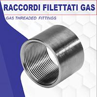 FMINOX - Raccordi a filetto gas