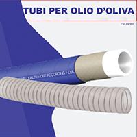 TUBI PER OLIO D'OLIVA INOX